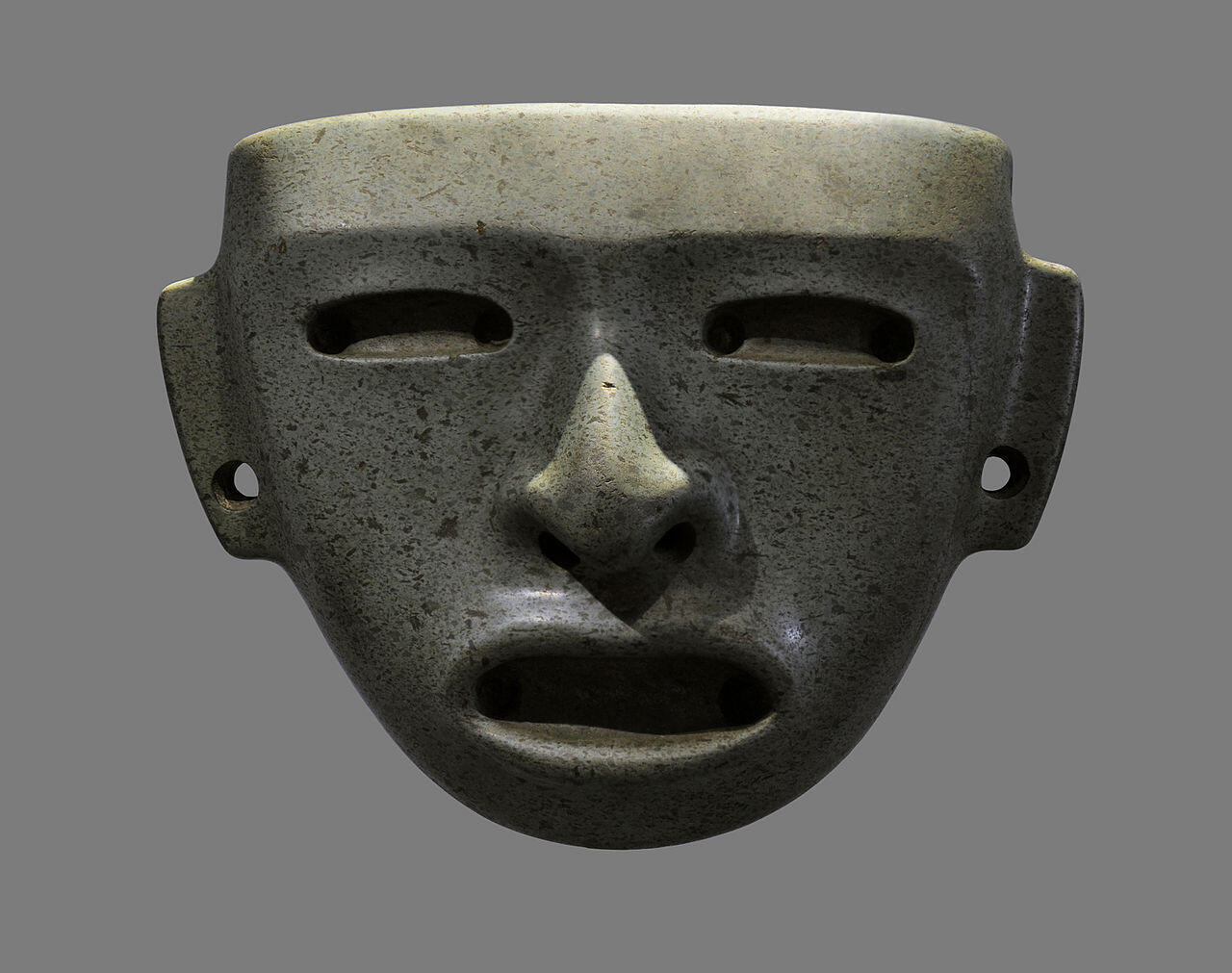 Cultures précolombiennes_Masque_Teotihuacan