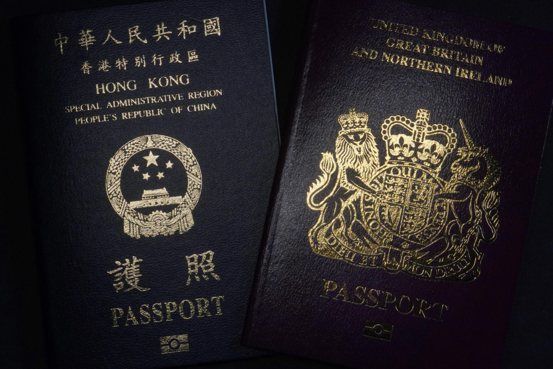 Passeport BNO et un passeport hongkongais