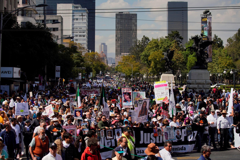 Marche contre les violences faites aux femmes, le 26 janvier 2020.
