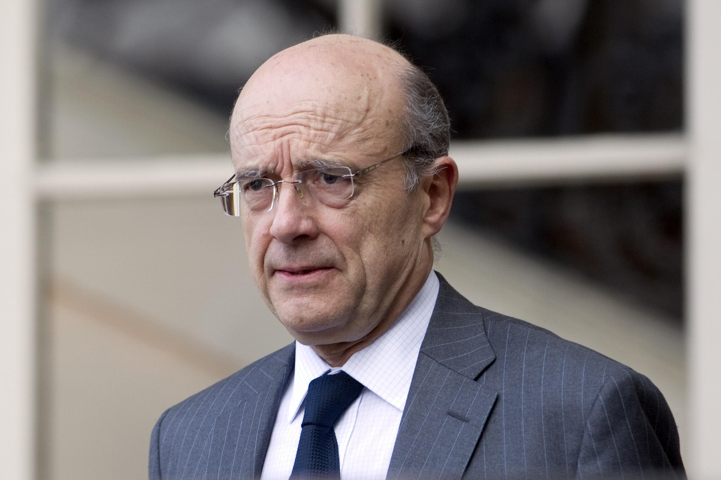 Le ministre français des Affaires étrangères Alain Juppé.