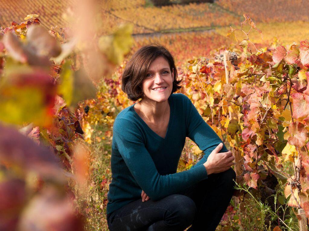Ludivine Griveau, régisseusse du domaine viticole.