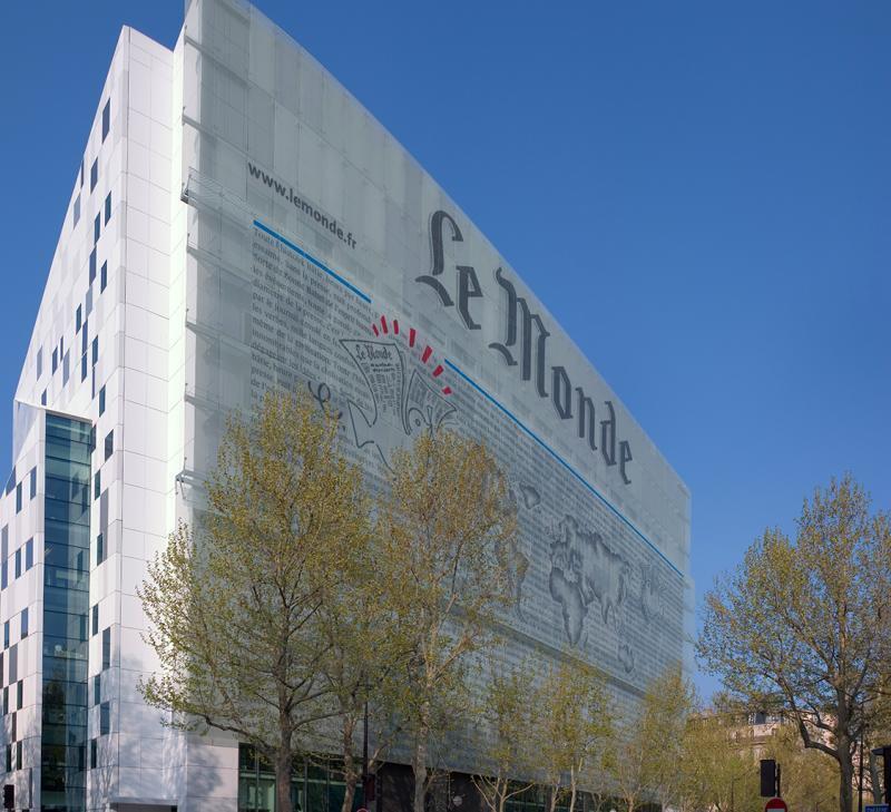 《世界报》巴黎总部