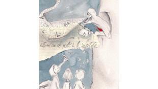 Dessin de Silvia Fantini réalisé à partir de «Écouter Paris à la Goutte d'or».