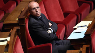 Eric Ciotti, député Le Républicains, à l'Assemblée nationale.