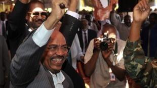 Rais wa Sudan Omar Hassan al-Bashir