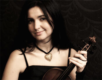 Natalia Juskiewicz, violonista polaca residente em Portugal