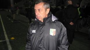Alain Giresse, ancien sélectionneur du Gabon et du Mali.