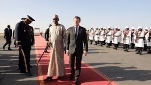 Le président français Emmanuel Macron est arrivé au Tchad ce samedi 22 décembre dans l'après-midi, où il a pu s'entretenir avec son homologue Idriss Déby.