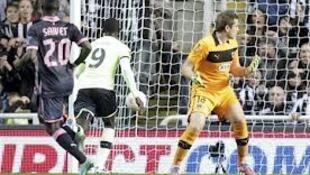 O Bordéus sofreu uma pesada derrota em Newcastle, 0-3.