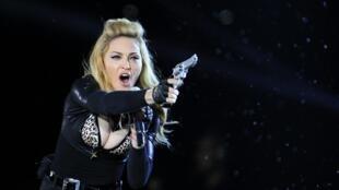 Madonna aproveitou para responder a Marine Le Pen.