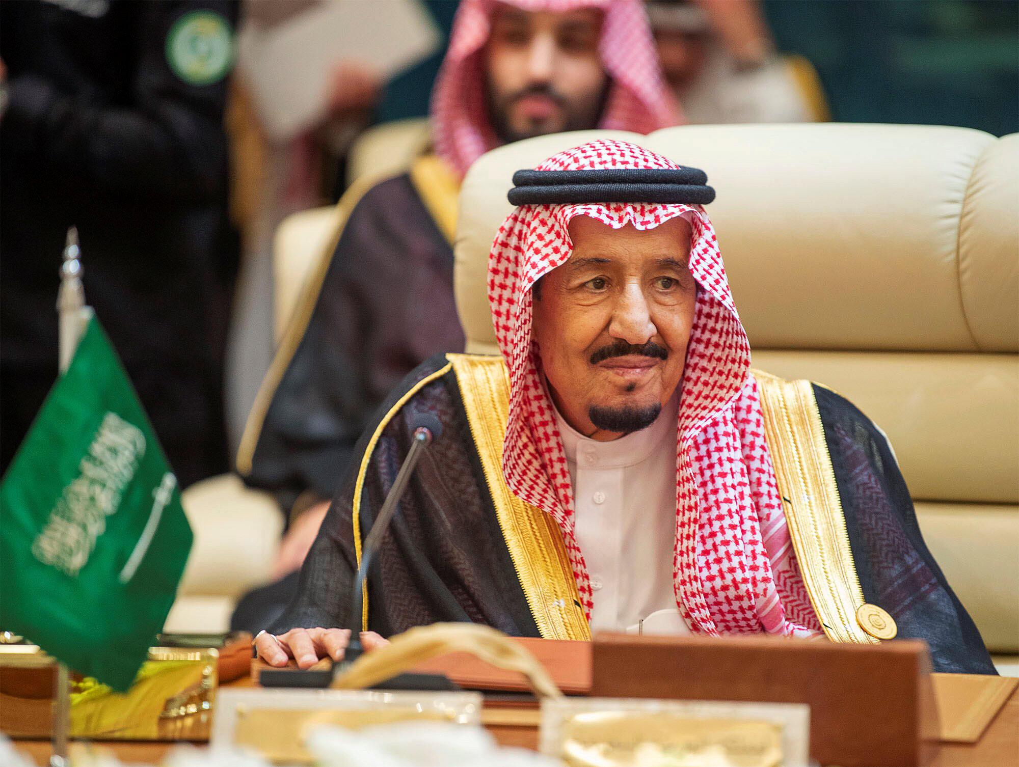 پادشاه عربستان نشست شورای همکاری خلیج فارس را افتتاح کرد