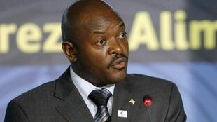 Pierre Nkurunziza, président du Burundi