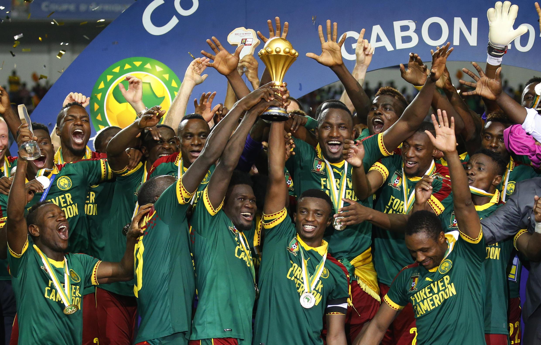 Tmu ya taifa ya Cameroon baada ya kushinda taji la AFCON 2017