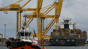 Sri Lanka is the biggest so-called transhipment hub in South Asia, meaning thatsome of the world's biggest ships dock in Sri Lanka to load and unload containers