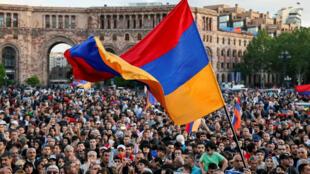 Ереван, 30 апреля 2018.