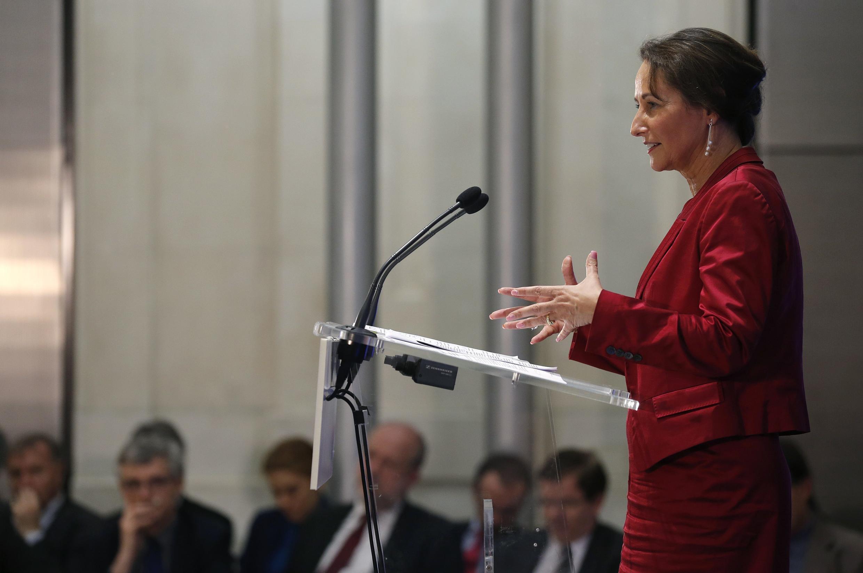 Environment minister Ségolène Royal