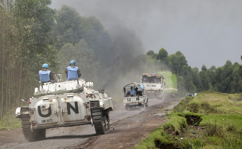 Vikosi vya kulinda amani  nchini Jamhuri ya Kidemokrasia ya Congo Monusco.