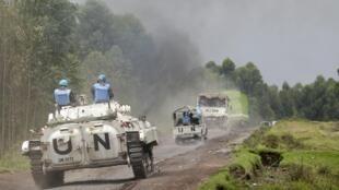 Convoi de la Monusco en RDC.