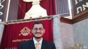 O rabino Avraham Franco é brasileiro de Manaus e descente de marroquinos.
