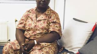 Céline Narmadji, porte-parole de la coalition citoyenne tchadienne «Trop c'est trop».