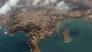 Cidade da Praia, na Ilha de Santiago.