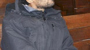 O francês Joachin Fritz-Joly , de 29 anos, no tribunal em Haskovo, na Bulgária, nesta segunda-feira 12 de janeiro.