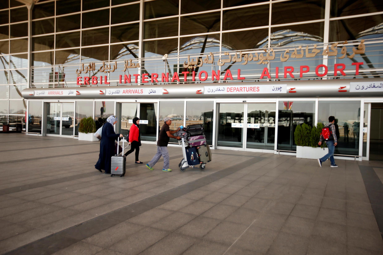 L'aéroport d'Erbil est l'un des deux aéroports du Kurdistan irakien concernés par la décision de Bagdad.