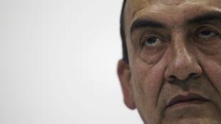 Líder das Farc Mauricio Jaramillo concede coletiva de imprensa em Havana, no dia 4 de setembro
