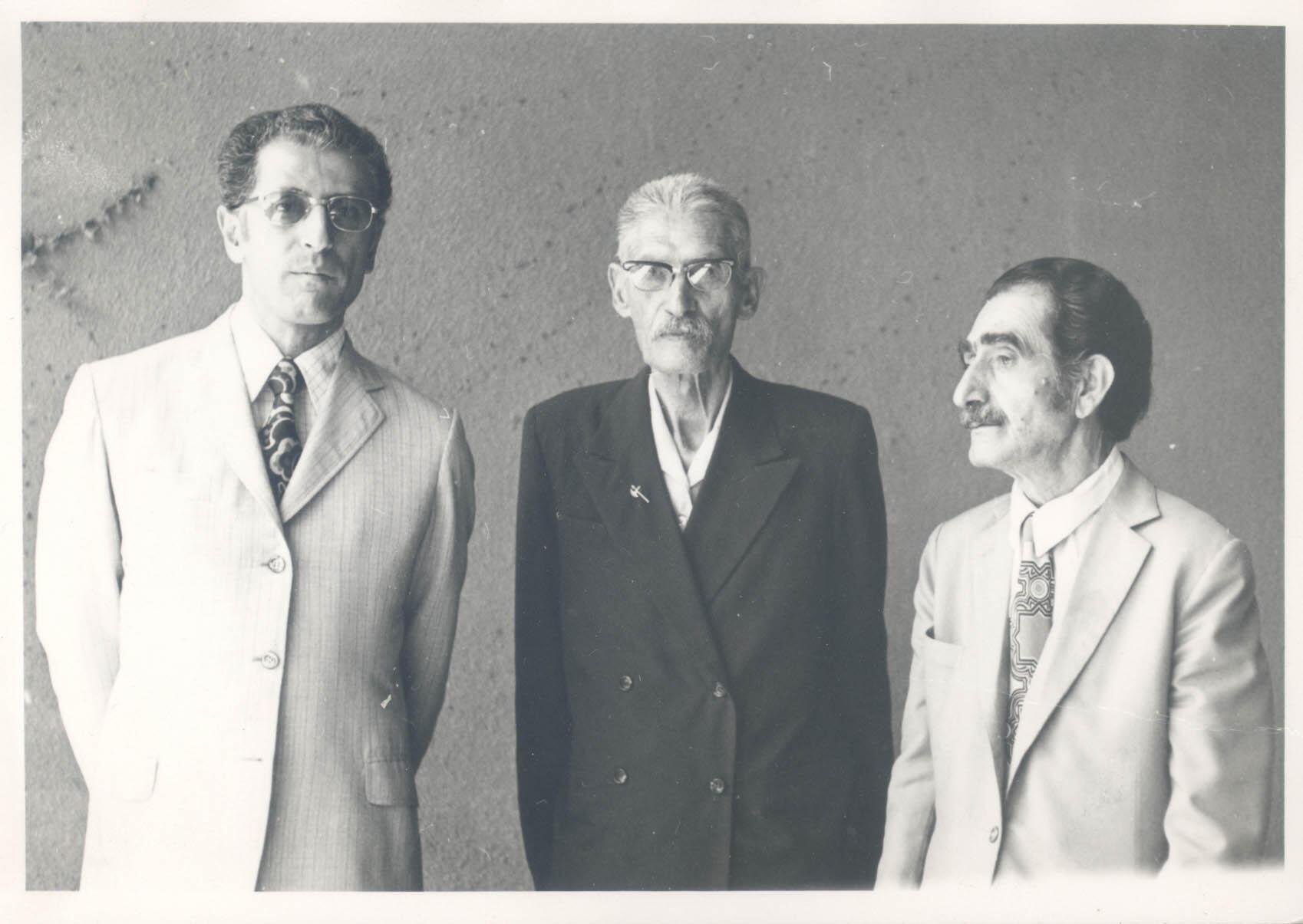 علی اصغر بهاری، سعید هرمزی، داریوش صفوت