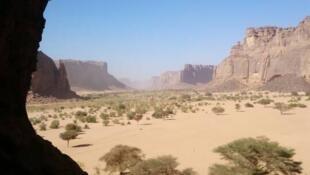 Dans la région du Tibesti, dans l'extrême nord-ouest du Tchad (image d'illustration)