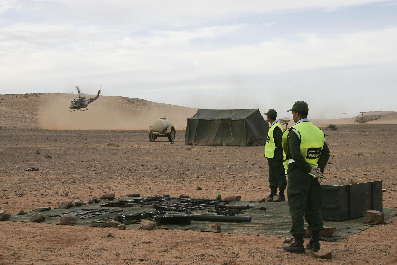 PHOTO Maroc armée Sahara - 5 janvier 2011