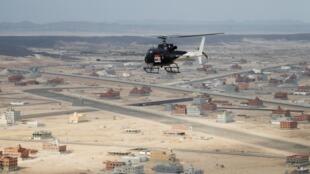 Près de Jeddah en Arabie saoudite, samedi 4 janvier 2020.