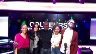 Céline Guillaume, Kenza Farah, Claudy Siar, Phyllisia Ross.