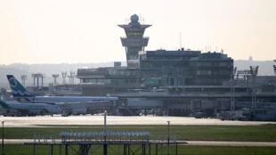 Orly Sud airport near Paris