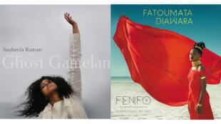 Susheela Raman «Ghost Gamelan» (Susheela Raman/Naïve) et Fatoumata Diawara «Fenfo» (Aïda Muluneh).
