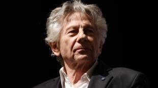Le réalisateur Roman Polanski est monté sur scène après l'avant-première de son film « J'accuse », à Paris, le 4 novembre 2019.