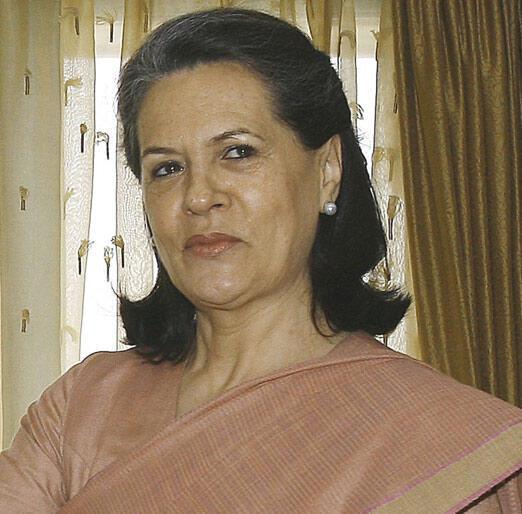 Shugabar jam'iyyar Congress mai mulkin Indiya Sonia Gandhi