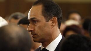 Gamal Mubarak a démissionné de ses fonctions de secrétaire du comité politique du PND. (Photo datant du 6 janvier 2011)