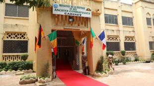 Le ministère de la Défense du Mali à Bamako, le 1er août 2017.