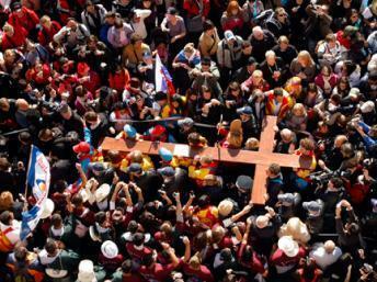 Cerca de um milhão de jovens devem orar, cantar e meditar durante seis dias, em Madri.