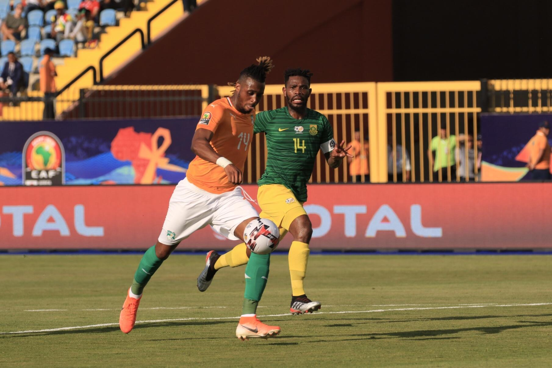Jonathan Kodjia scored Cote d'Ivoire's winner against South Africa in the second-half.