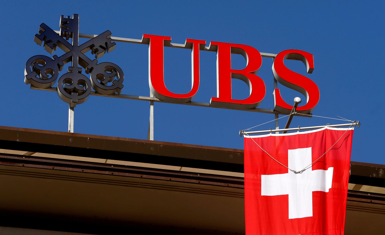 Trụ sở Ngân hàng Thụy Sĩ UBS tại Zurich. Ảnh chụp ngày 24/04/2017.