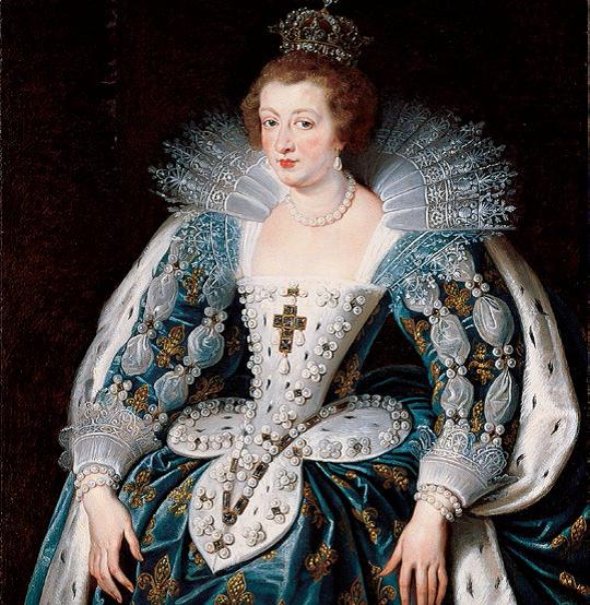 Peter Paul Rubens , Anne of Austria, Queen of France