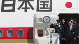Thủ tướng Nhật Bản Yoshihiko Noda đến Hoa Kỳ ngày 29/04/2012.