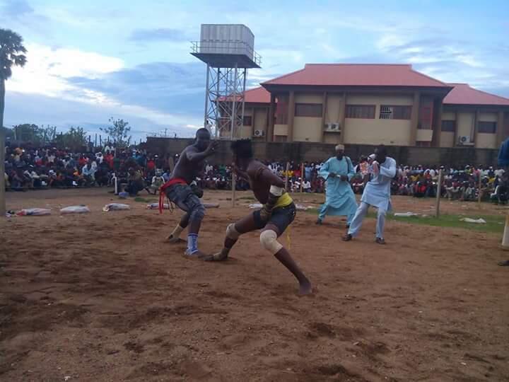 Gidan damban Umaru Fiyalu da ke jihar Kaduna a Najeriya