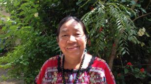 Rosalina Tuyuc, fondatrice de Conavigua (association des veuves du Guatemala) se bat pour les droits des veuves et des victimes du conflit armé.