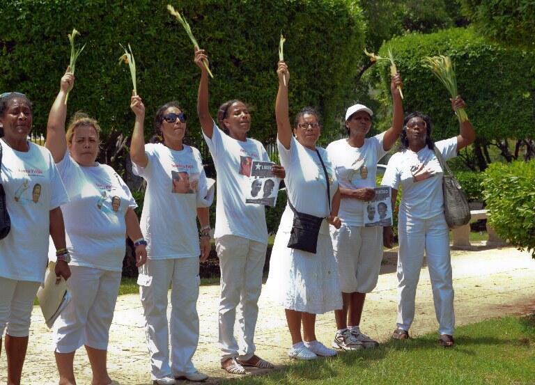 Les Dames en blanc à La Havane, le 29 juillet 2012.
