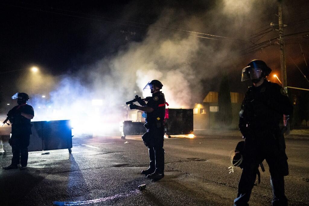 美國城市波特蘭持續騷亂,2020年8月29