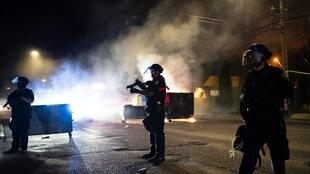 美国城市波特兰持续骚乱,2020年8月29