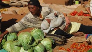 A Madagascar, la population fait face à la sécheresse et la faim depuis quatre mois.